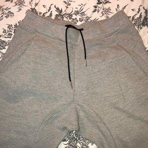 Zara MAN basic Textured Jogger with Drop Crotch M